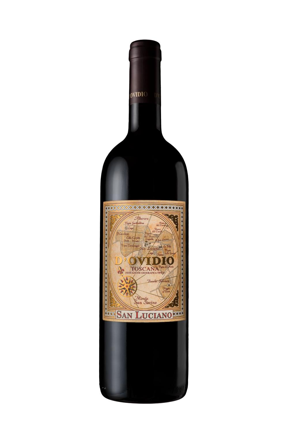 D'Ovidio Toscana Rosso I.G.T. 2011 - 0,75 Lt