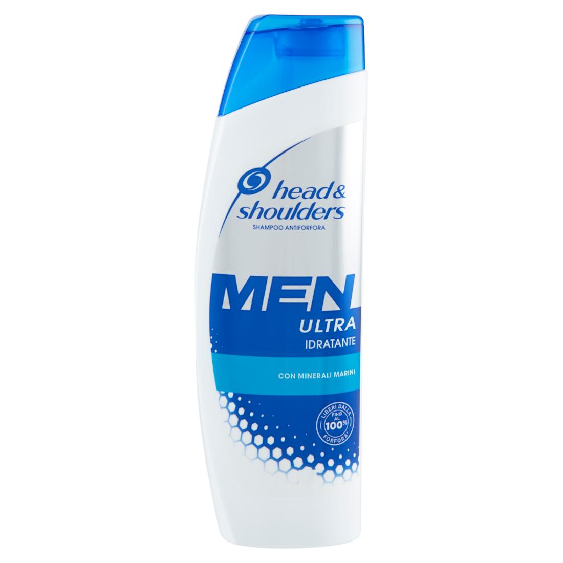 HEAD&SHOULDERS Men Ultra Idratante Shampoo Antiforfora 225ml