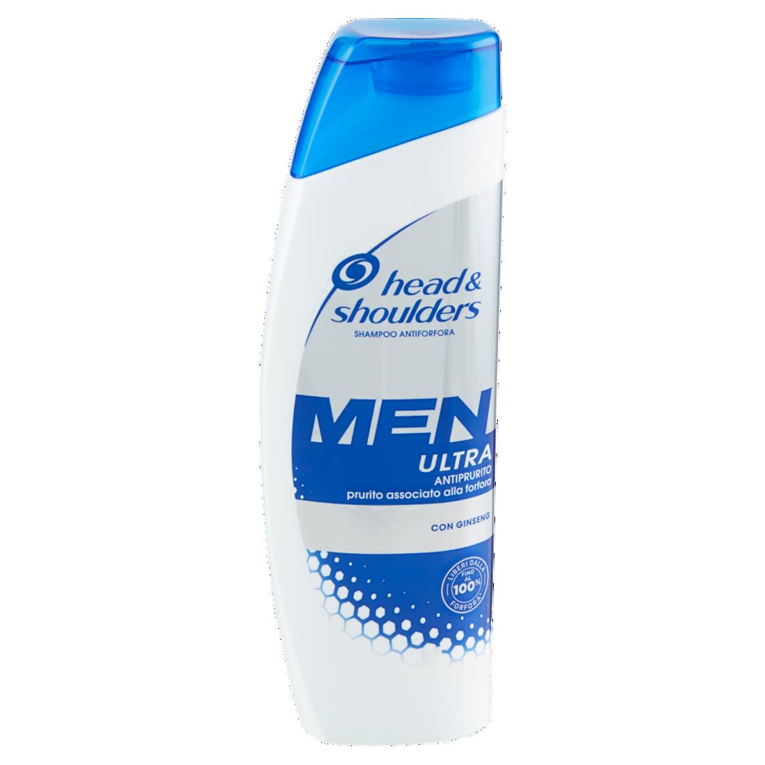 HEAD & SHOULDERS Men Ultra Antiprurito Shampoo Antiforfora 225ml