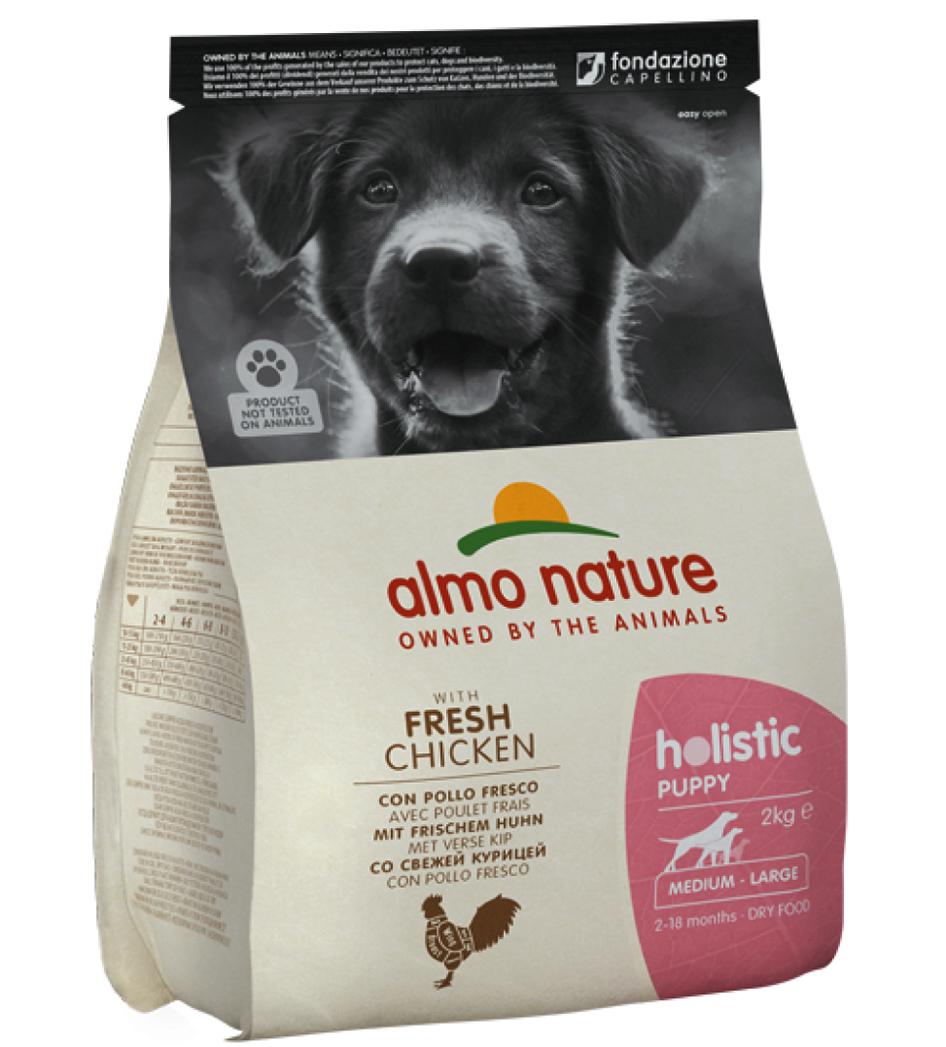 Almo Nature - Holistic Dog - Medium/Large - Puppy - Pollo Fresco - 2kg