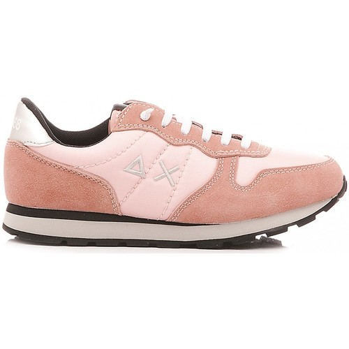 Sun 68 Ally Solid Sneaker Rosa KId