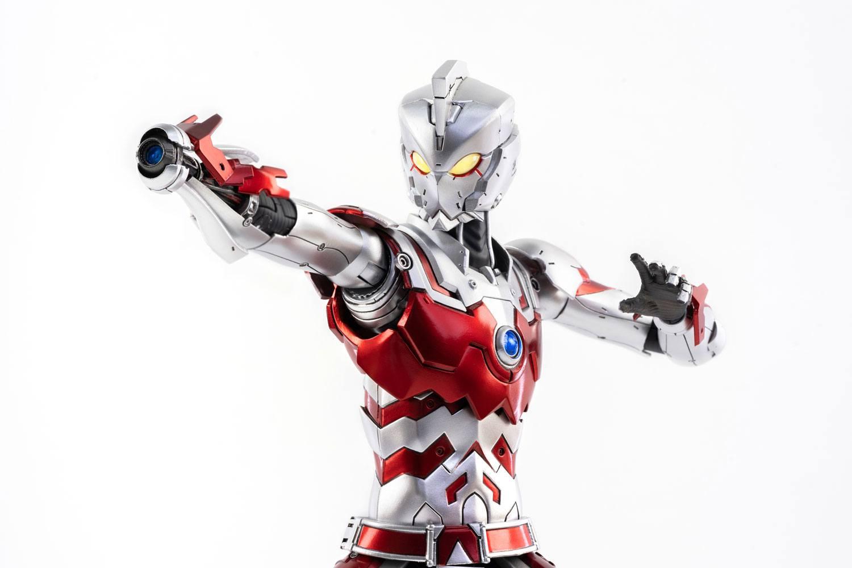 *PREORDER* Ultraman FigZero Action Figure: ULTRAMAN ACE SUIT - ANIME VERSION  by ThreeZero