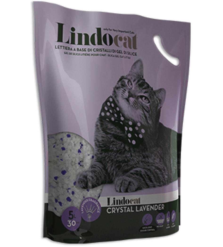 Lindocat Crystal - Silicio - Lavanda - 16 litri