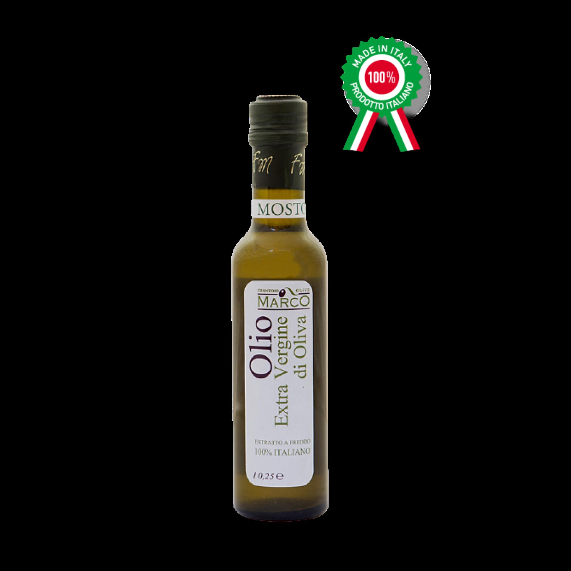 Olio Extra vergine di oliva mosto 0,25 l