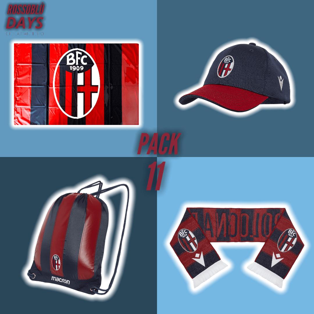 ROSSOBLÙ DAYS PACK 11 (Ragazzo) Bologna Fc