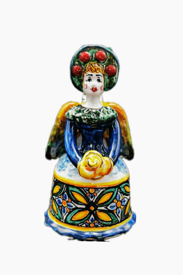 Matrangela Ceramiche di Caltagirone Bomboniera Donna