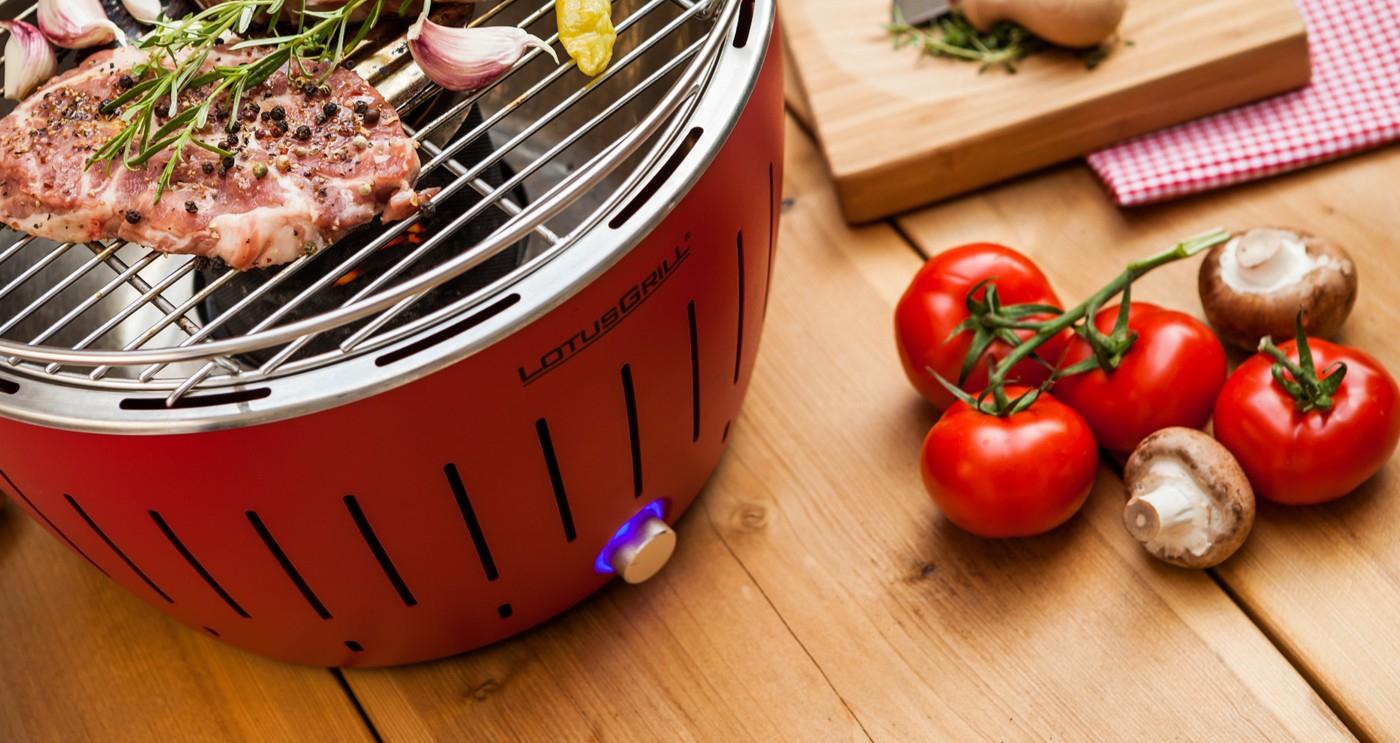 Grill portatile xl rosso