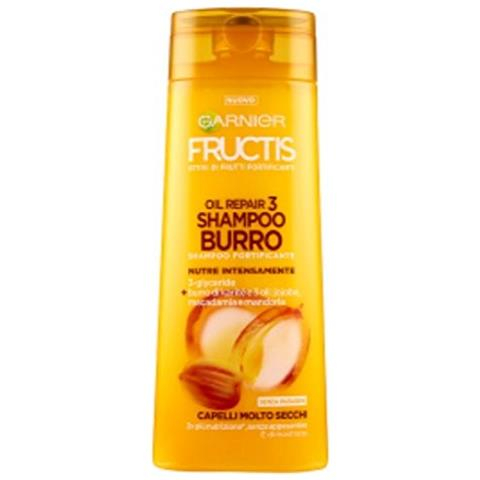 FRUCTIS Shampoo oil repair 3 burro di Karitè 250 ml