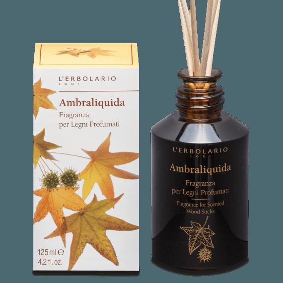Ambraliquida - Fragranza per Legni Profumati 125 ml