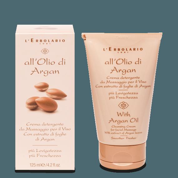 Argan Crema detergente Massaggio Viso 125 ml
