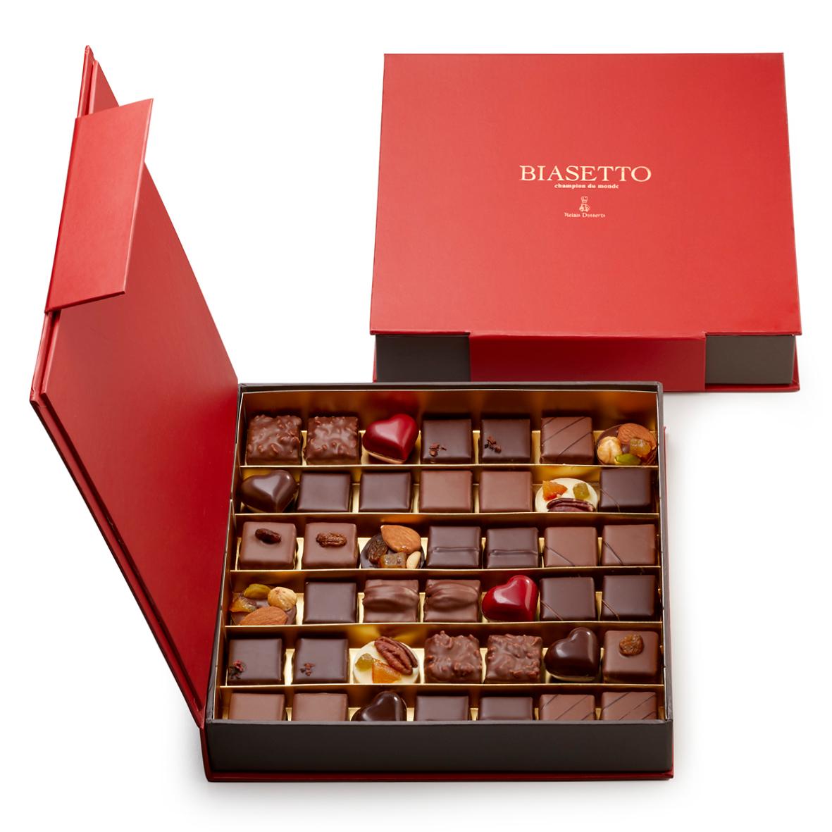 Scatola di cioccolatini assortiti 42 pz