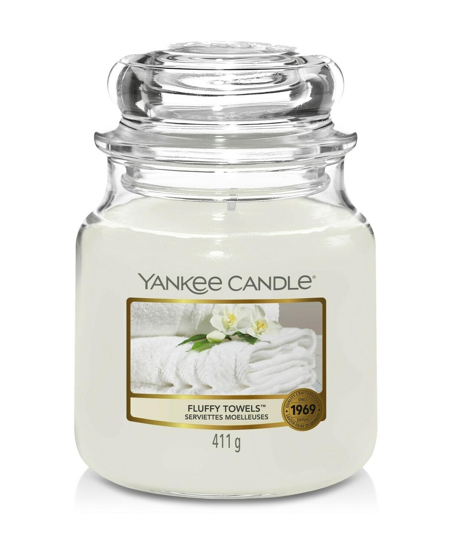 Yankee Candle - Fluffy Towels - Giara Media