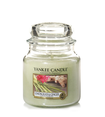 Yankee Candle - Lemongrass & Ginger - Giara Media