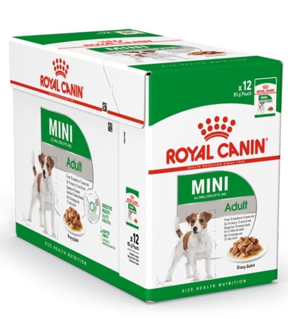 Royal Canin - Size Health Nutrition - Mini Adult - 85gr x 12 buste