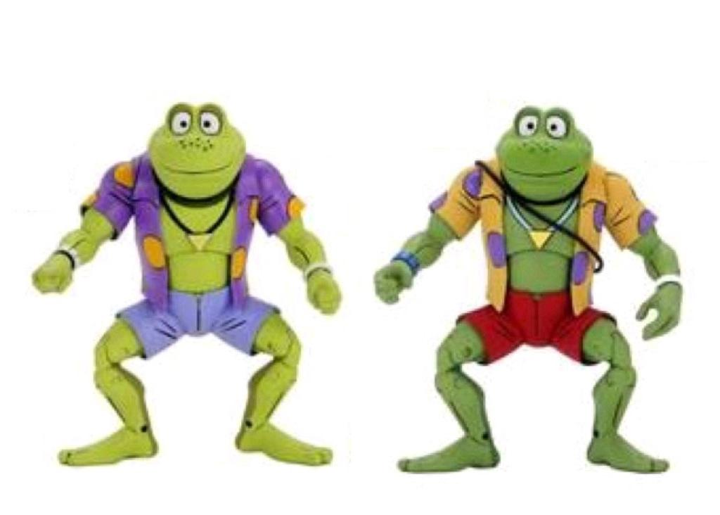 *PREORDER* Teenage Mutant Ninja Turtles Action Figure: GENGHIS & RASPUTIN FROG by Neca