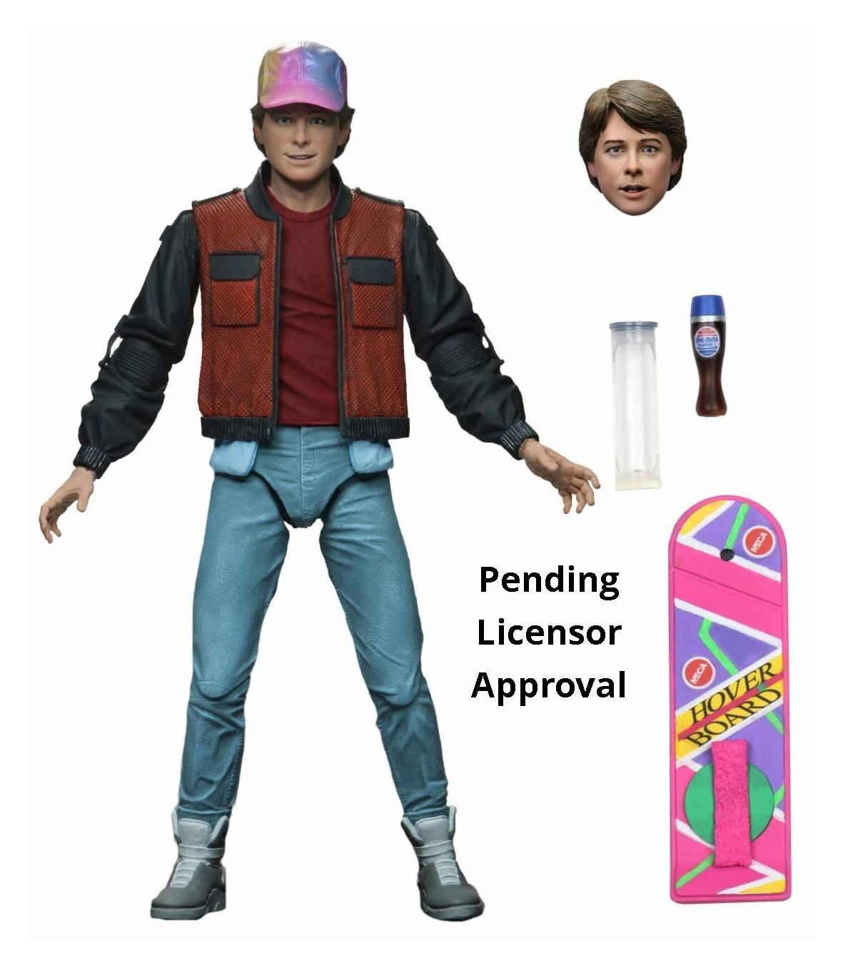 Back to the Future Part 2 Action Figure Ultimate: Marty McFly by Neca