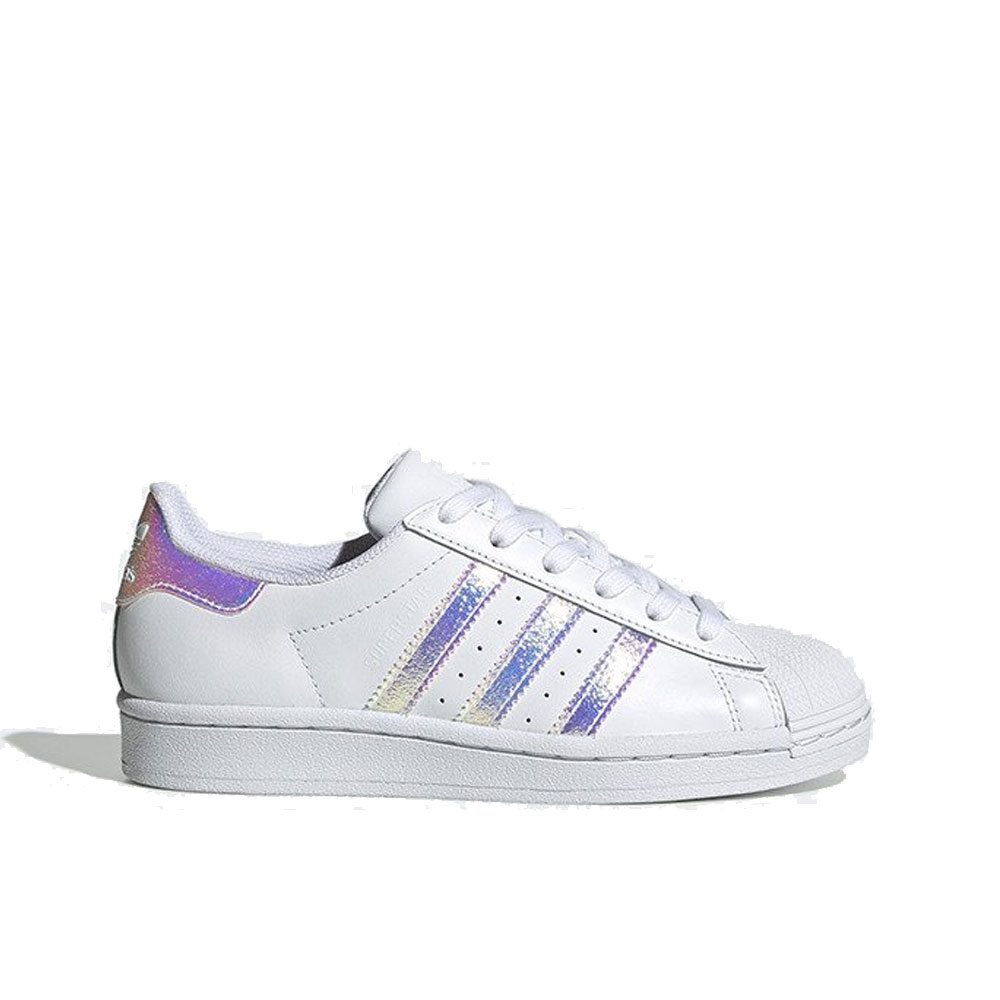 Adidas Superstar Bianco Glitter Muliticolor da Donna