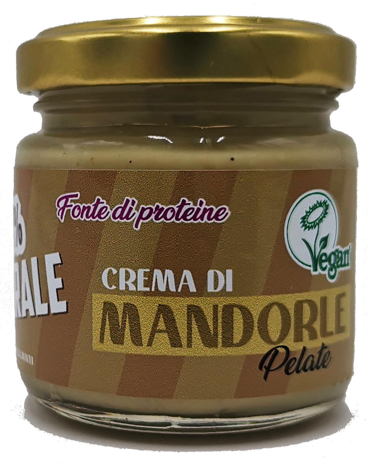 Crema di mandorle pelate - 100% naturale