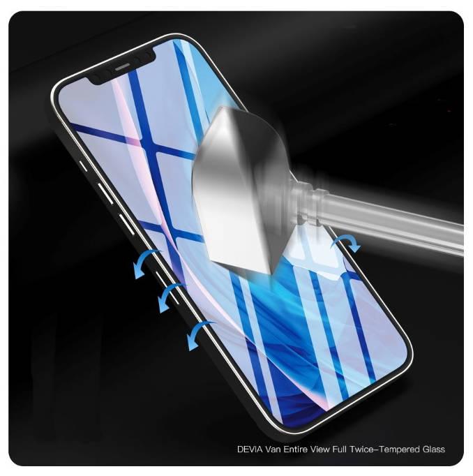 Pellicola in vetro temperato iPhone 12/ 12 Pro / 12 Pro Max / 12 mini