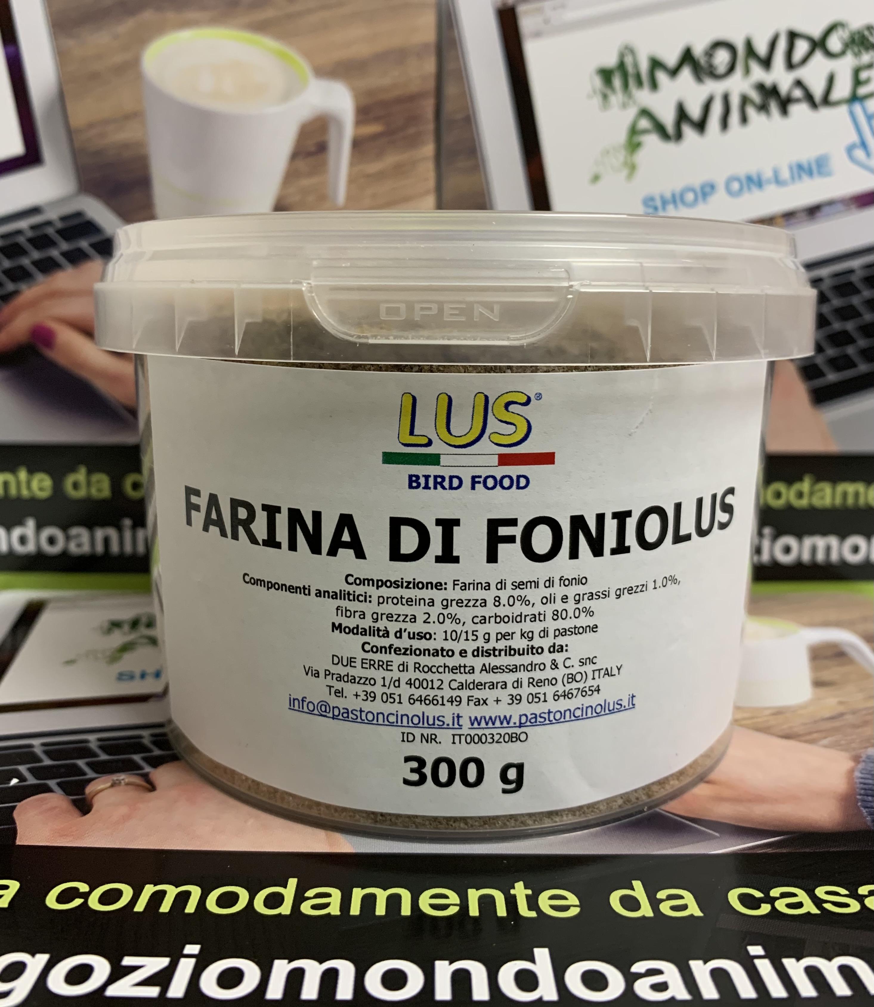 FARINA DI FONIOLUS 300gr