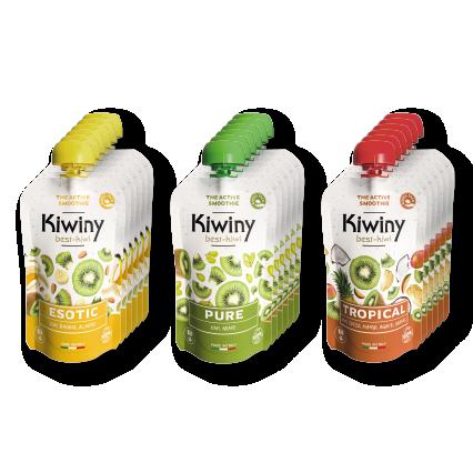 Kiwiny Active Smoothies - Tasting Kit (18 pz)