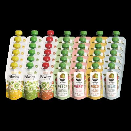 Kiwiny Super Tasting Kit (42 pz)