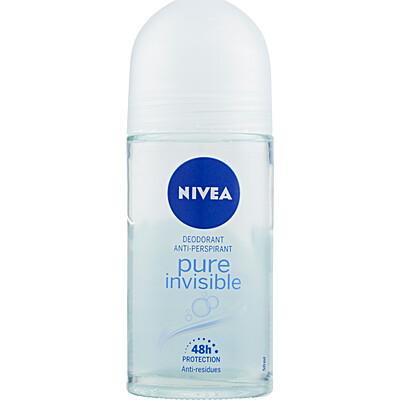NIVEA Deodorante roll on Pure & Natural 50 ml