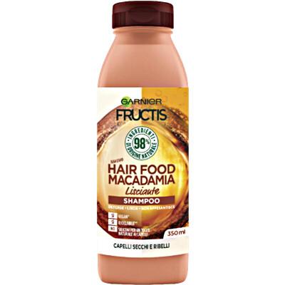 FRUCTIS Shampoo Hair Food Macadamia Lisciante 350ml