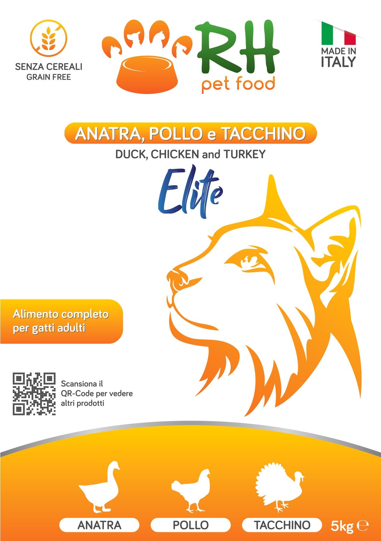 Anatra, pollo e tacchino Elite