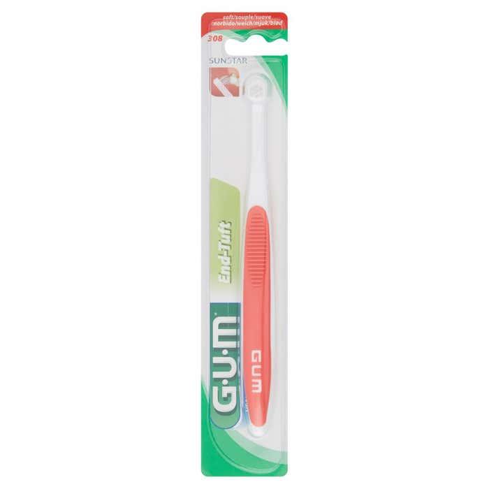 GUM End-Tuft Soft Spazzolino Monociuffo