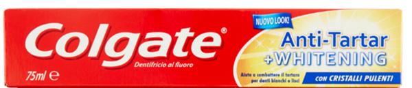 COLGATE Antitartaro&Whitening Dentifricio 75ml
