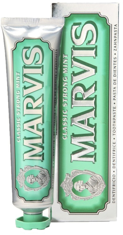 MARVIS Classic Strong Mint Dentifricio 85ml