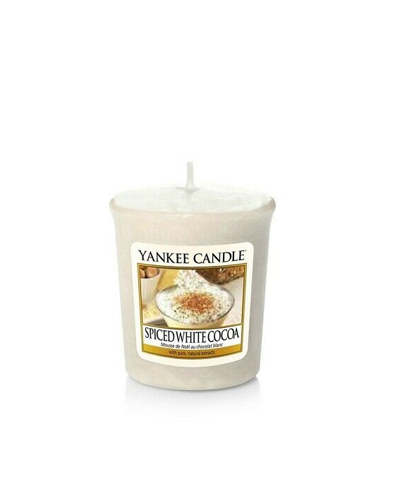 Yankee Candle - SPICED WHITE COCOA - SAMPLER