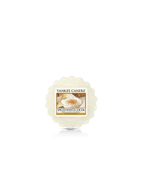 Yankee Candle - SPICED WHITE COCOA - TARTINA