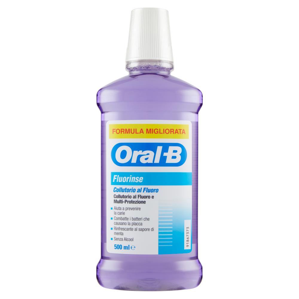 ORAL-B Collutorio Fluorinse 500ml