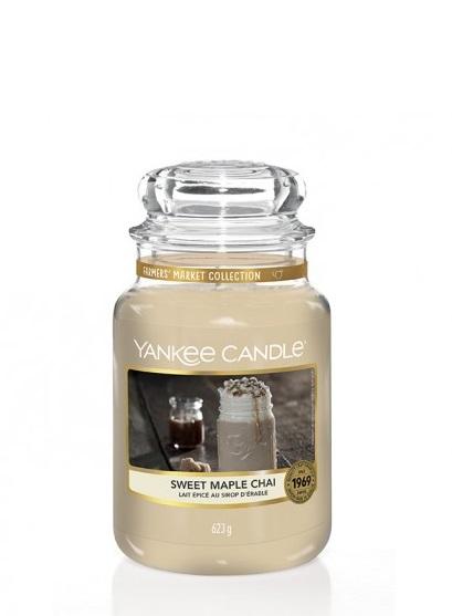 Yankee Candle - SWEET MAPLE CHAI - GIARA GRANDE