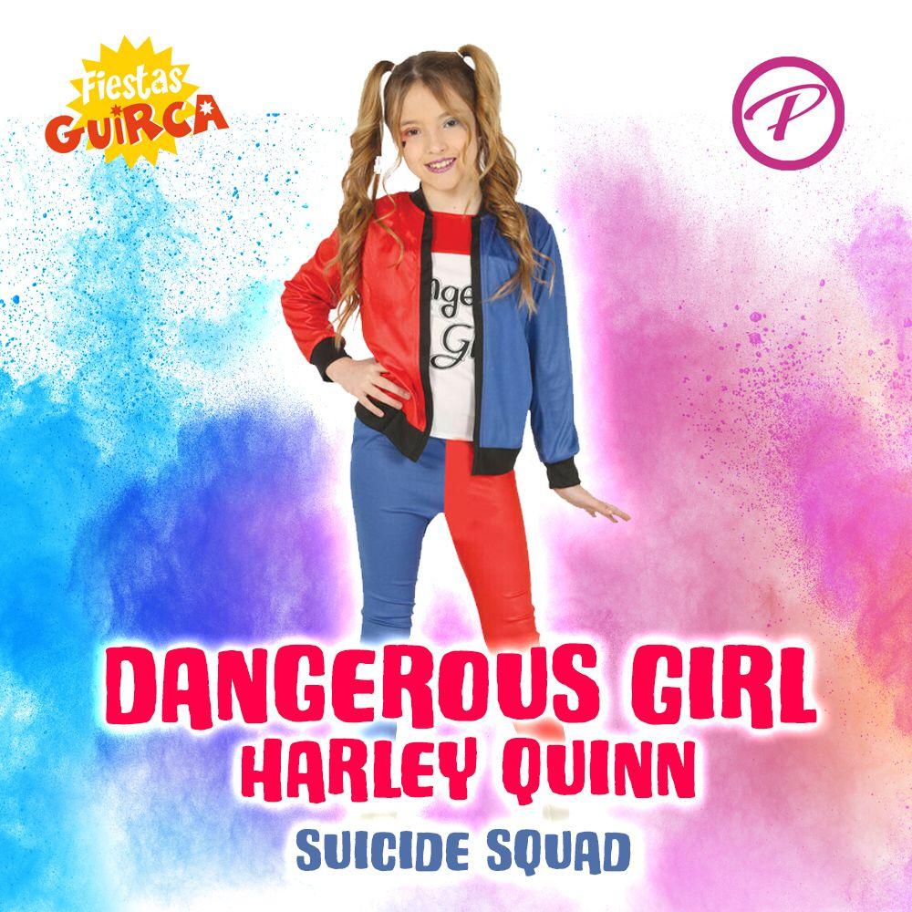 Costume Dangerous Girl (nello stile di Harley Quinn)
