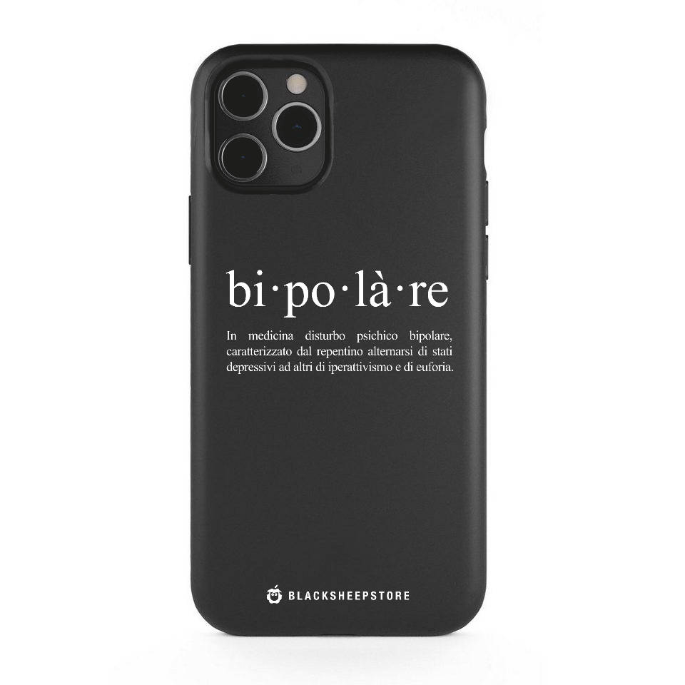 Cover BlackSpeech bipolare iphone 11, 11 Pro, 11 Pro Max | Blacksheep Store