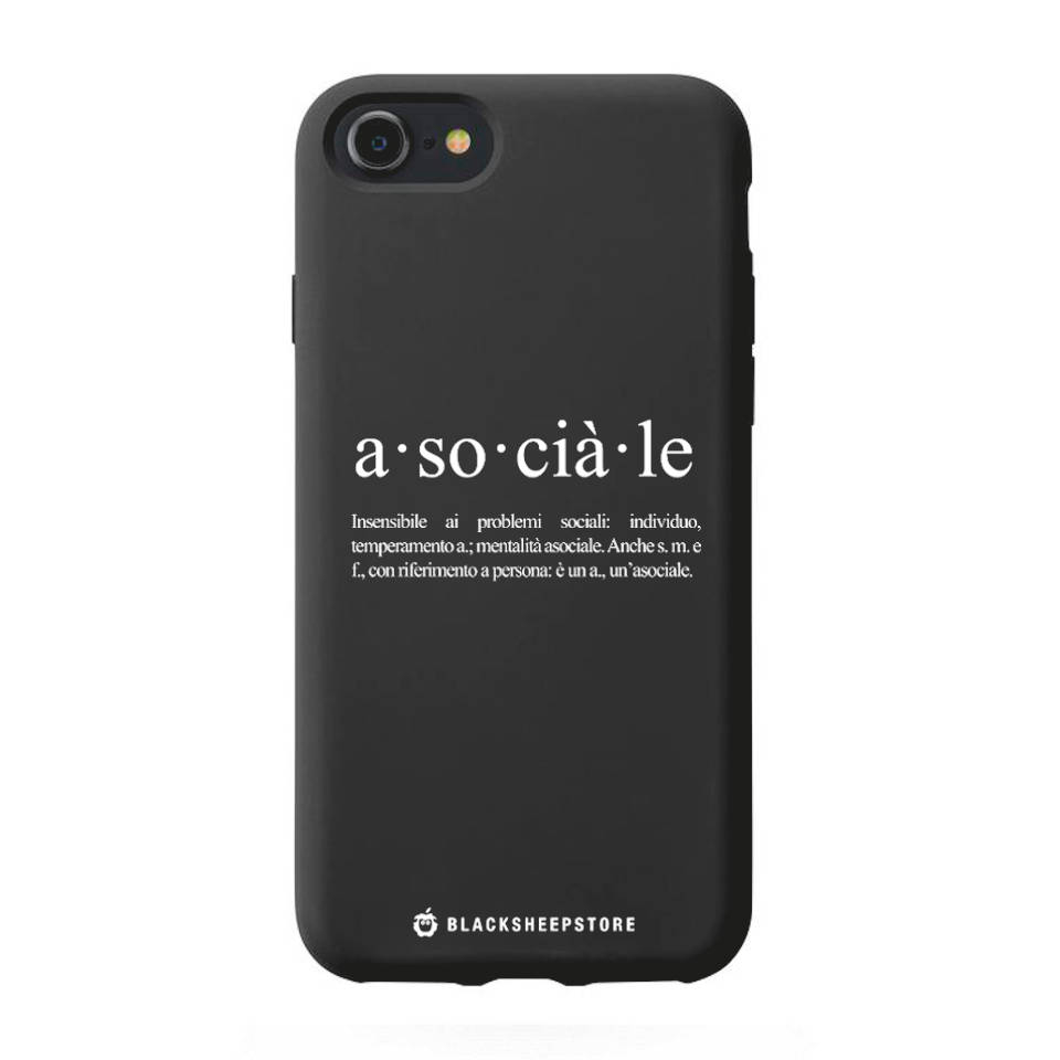 Cover Blacksheep asociale iphone 7/8/SE2020 e 7/8 Plus