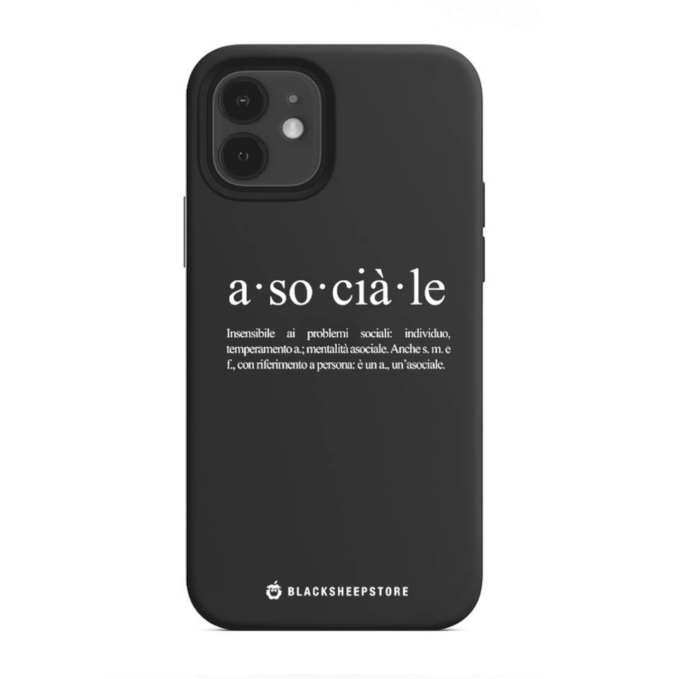 Cover Blacksheep asociale iphone 12, 12 Pro, 12 Mini, 12 Pro Max