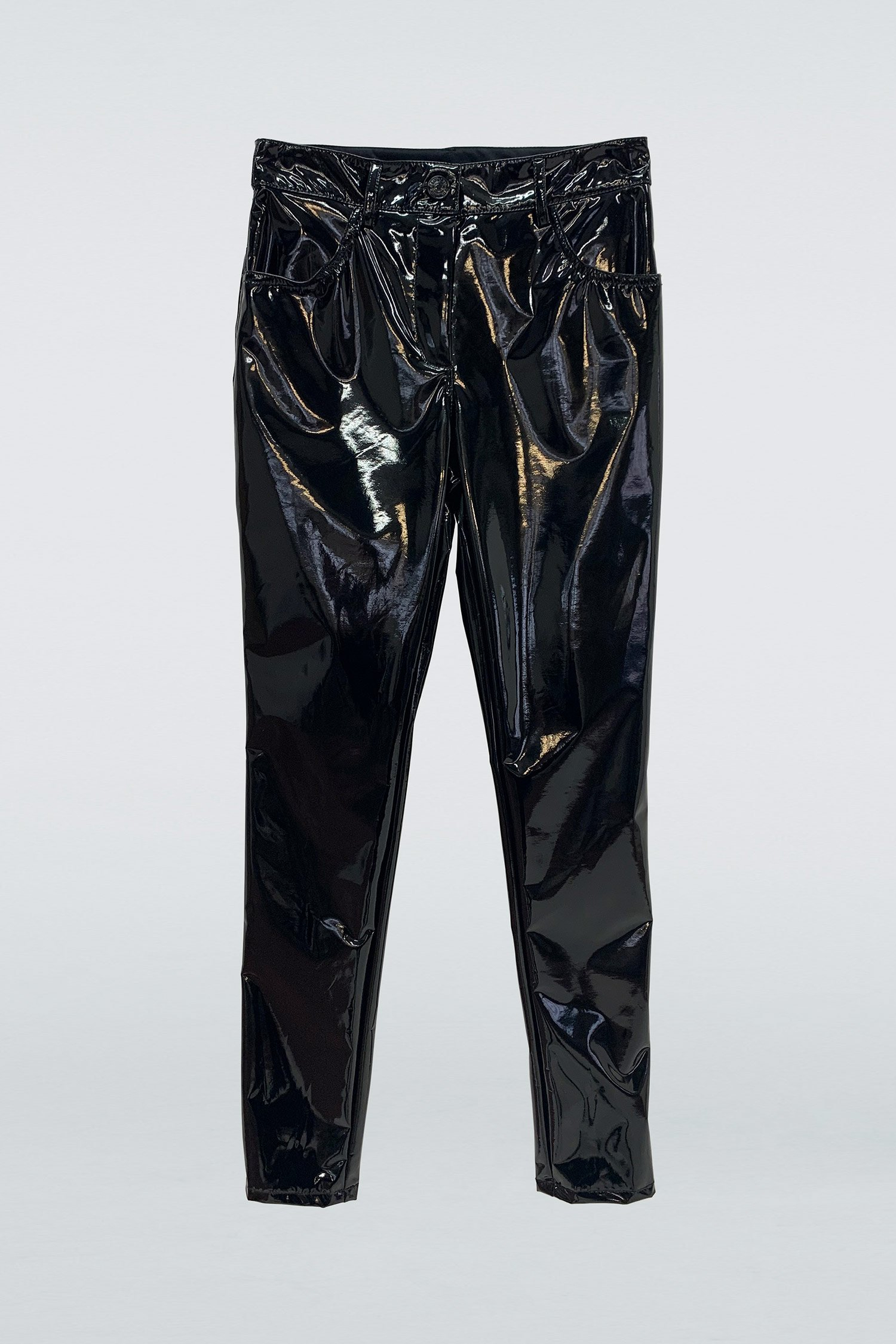 Pantalone Panta Vinil nero Aniye By