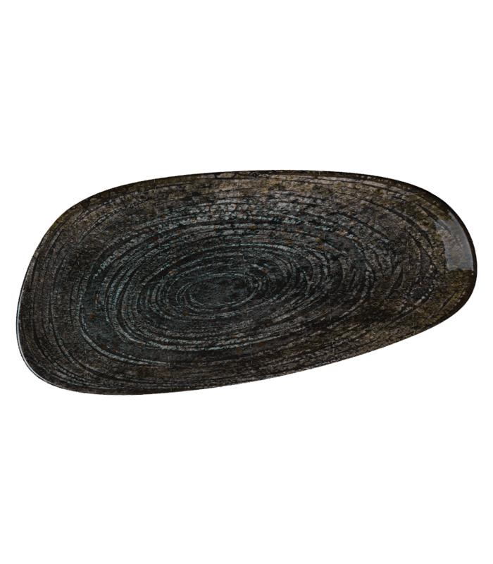Piatto rettangolare Bonna' Freya Wood (6pz)
