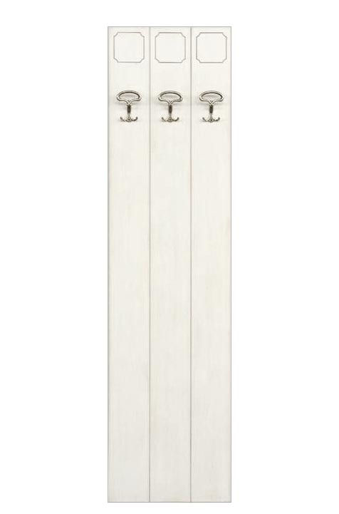 Wall coat rack lacquered wood