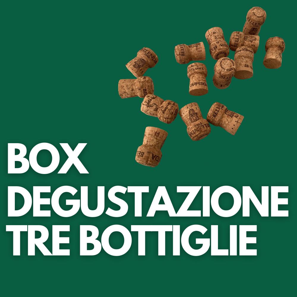 Box degustazione tre bottiglie