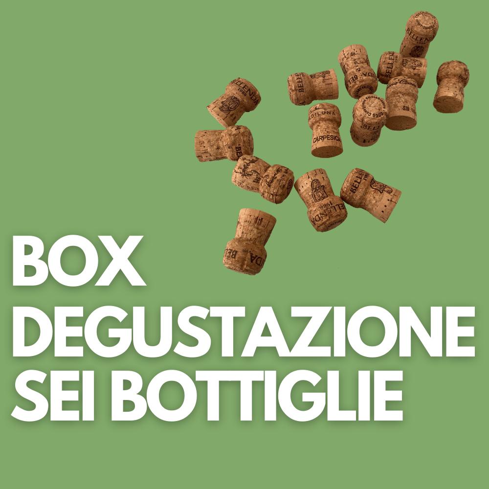 Box degustazione sei bottiglie