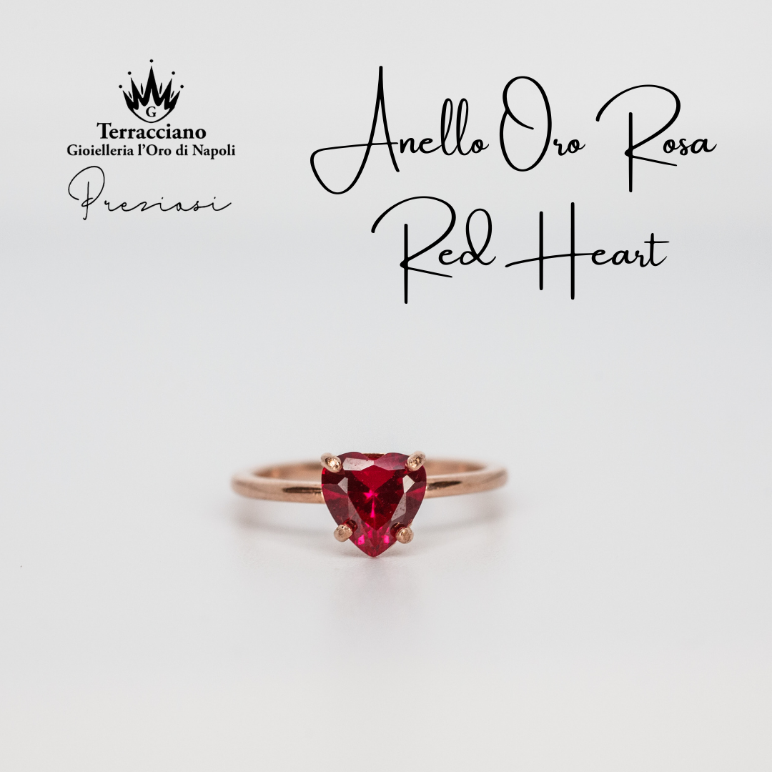 Anello Red Heart