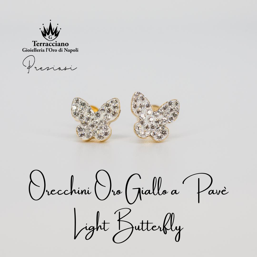 Orecchini Light Butterfly