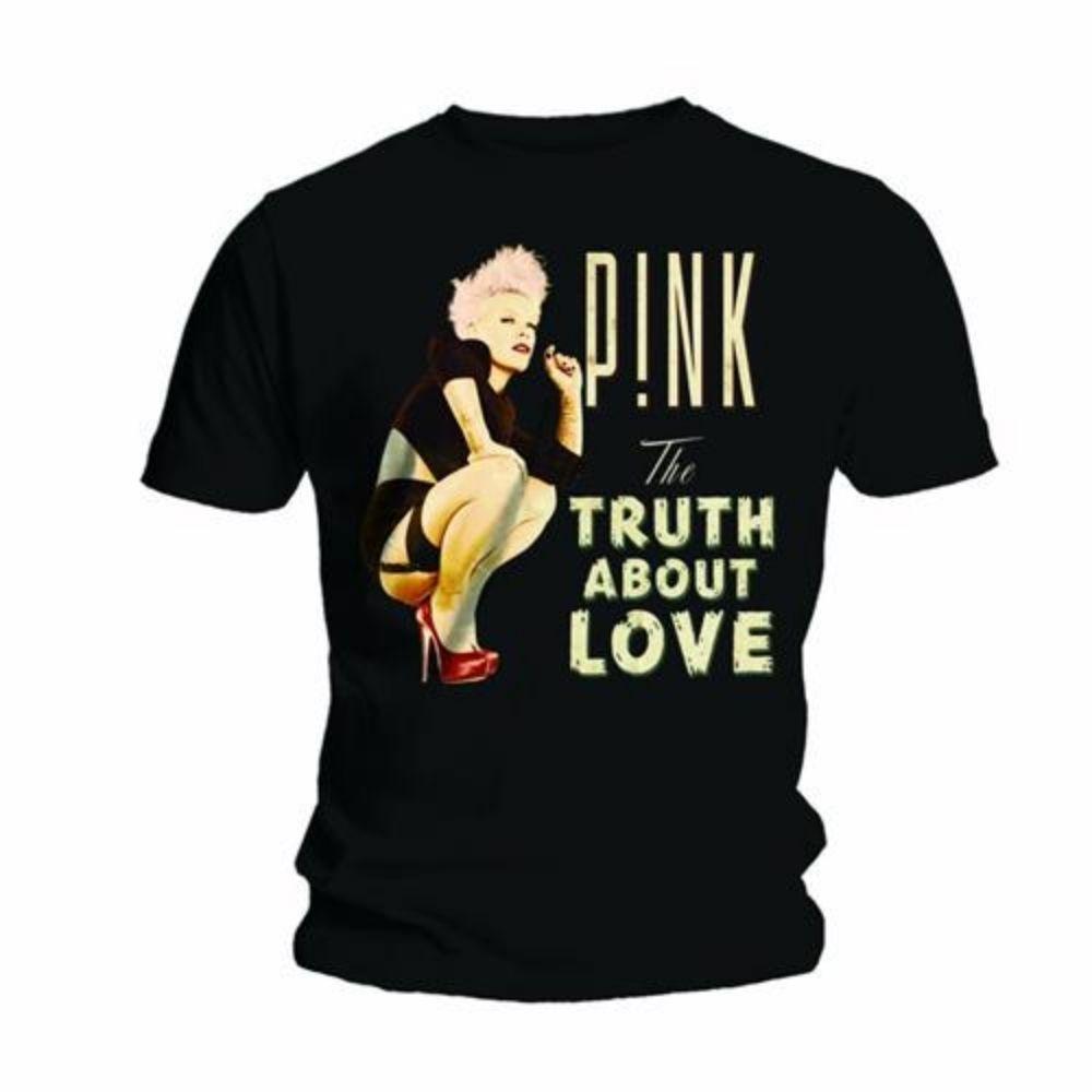 T-shirt manica corta Pink taglia XL