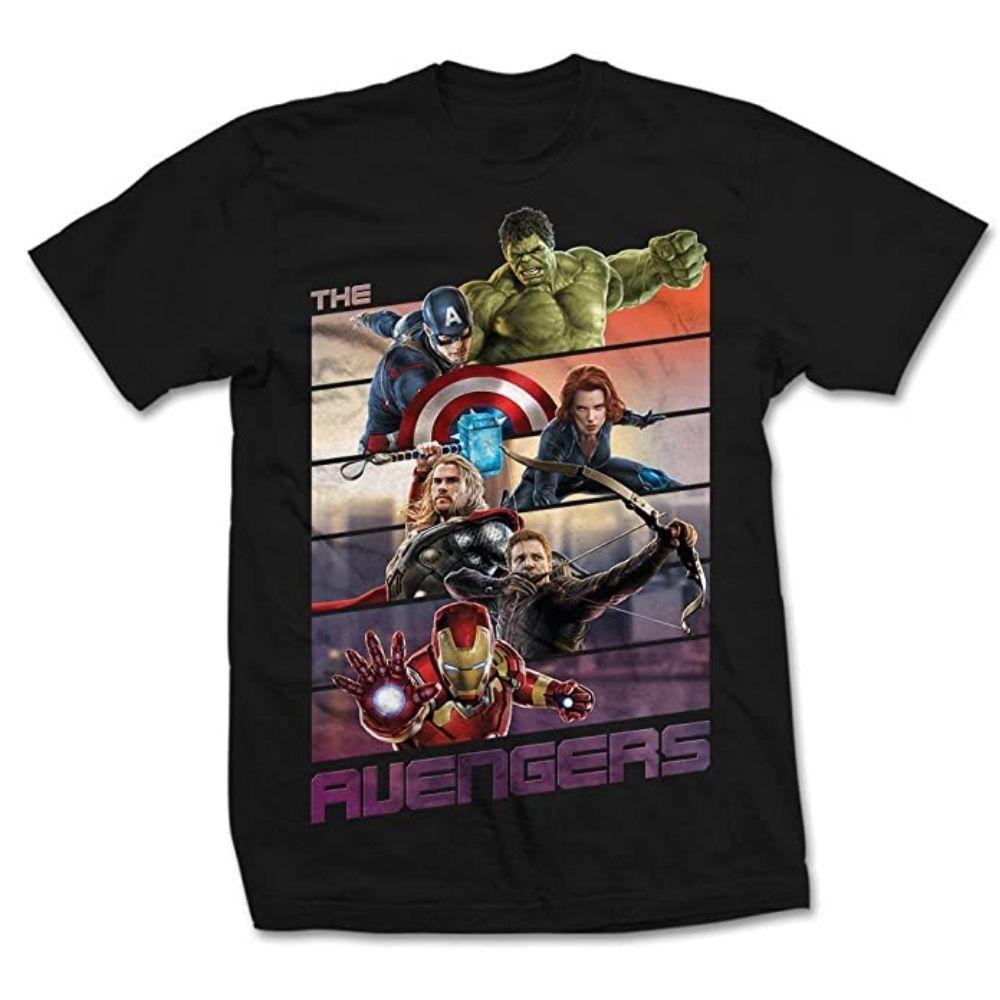 Maglietta The Avengers taglia L manica corta