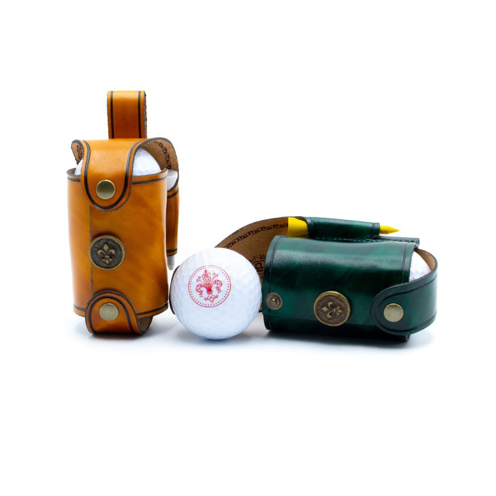 Porta palle da golf doppio Benvenuto
